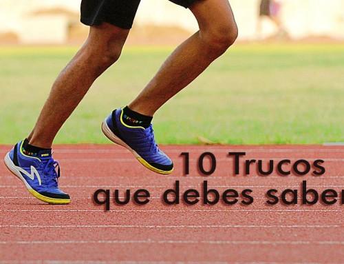 10 trucos que todo corredor debe saber.