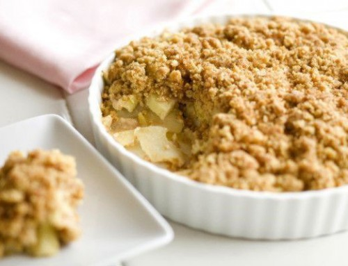 Apple Crumble de Avena