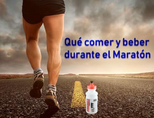 Comer y beber en Maratón