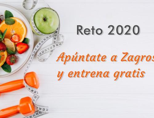 RETO 2020 | Apúntate a Zagros y entrena GRATIS