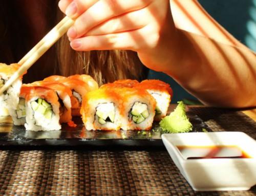 El sushi engorda también.