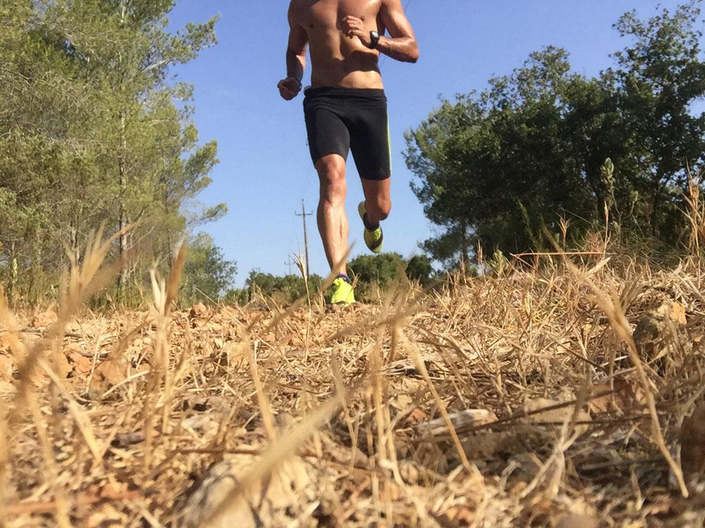 entrenar con calor runners zagros