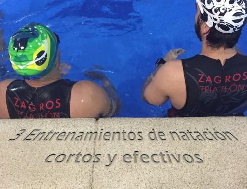 3 Entrenamientos de natación cortos y efectivos