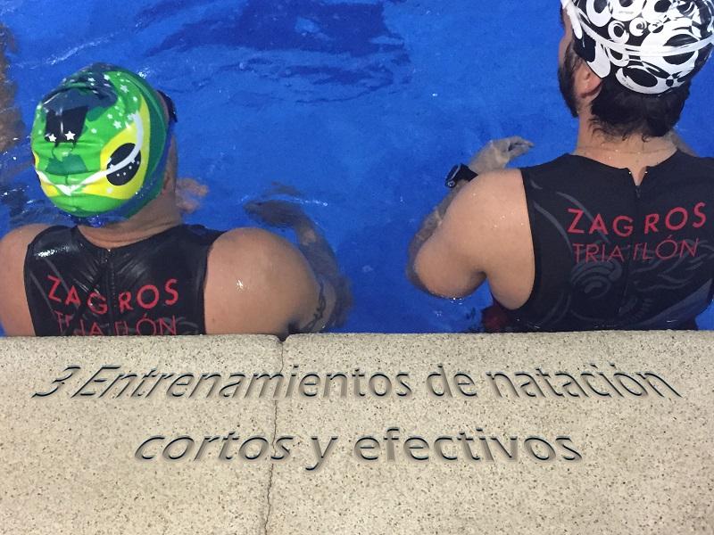 Entrenamiento de natación sencillo