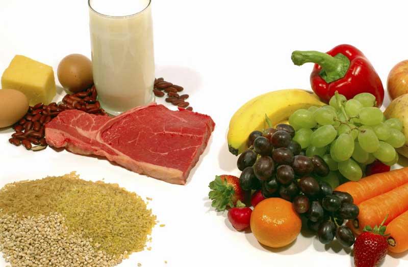 En que alimentos de nuestra dieta se encuentra el carbono