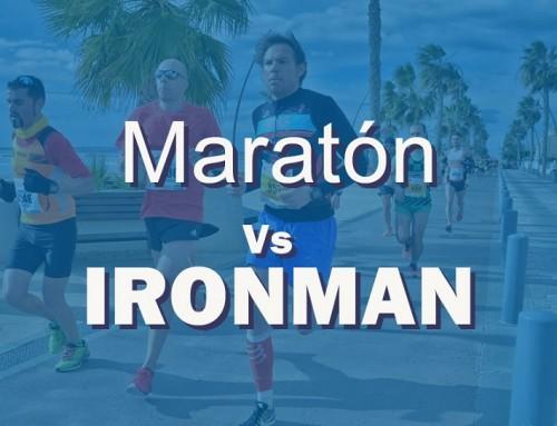 ¿Qué es más duro para tu organismo, maratón o Ironman?