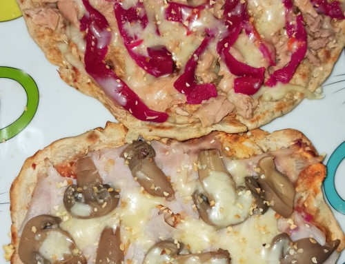 Pizza casera a la sartén