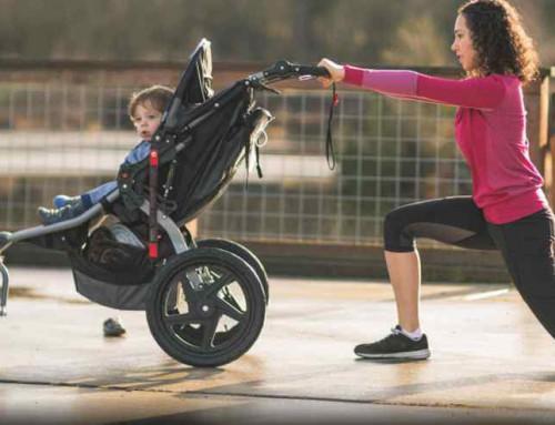 7 ejercicios post parto para hacer con tu bebé